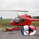 Разбился еще один вертолет легкого типа Bell-505